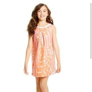 NWT Lilly Pulitzer for Target giraffe print dress